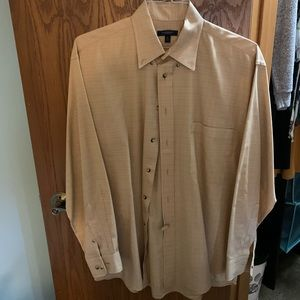 Burberry button up long sleeve men's shirt